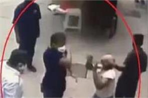 navy officer attack shiv sena workers bail