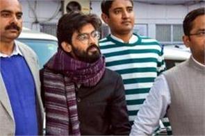 delhi violence  jnu student sharjeel imam in legal custody for 14 days