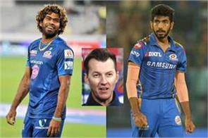 bumrah will fill malinga  s shortfall  brett lee