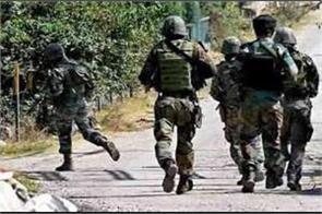 crpf jawan injured in clash between security forces and militants in j k