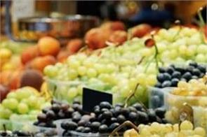 train seasonal fruits and vegetables