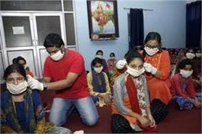 teachers   day  siblings in j k distribute masks and sanitizers to orphans