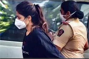 rhea chakraborty in 14 days judicial custody in drug case