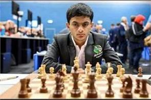 nihal sarin of india won the award for the best chess match of 2020