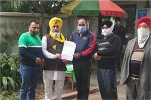 bhai ghanhaiya seva society hands over blood letter to uno