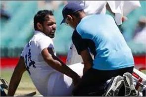 vihari dropped out of the last test