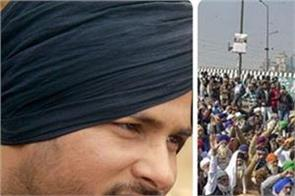 farmers protest   babbu maan and amrinder gill