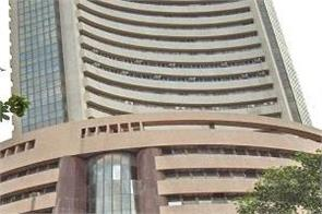sensex up 334 points  nifty opens at 14 234