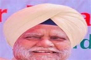 congress leader sardar buta singh passed away