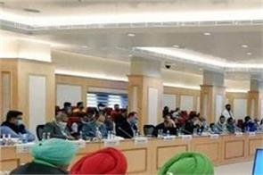 farmers issue govt and kisan meeting in vigyan bhawan