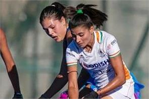 indian women s hockey team match draw
