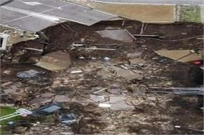 natural disasters in italy  hospitals collapsed in the ground