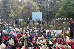 sangrur barricade police farmers