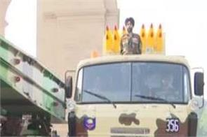 republic day indian army weapons parade