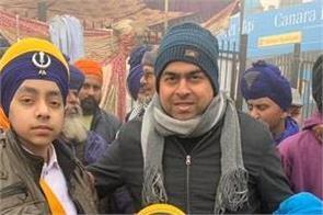 sanjeev lamba farmers protest support