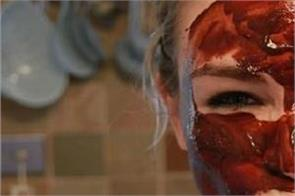red wine face pack will solve every problem related to skin no need for makeup