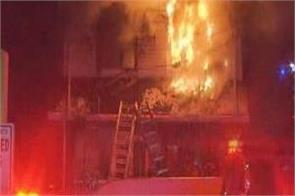 fire in toronto  s east  two people in critical condition