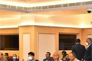 farmers talks with government in vigyan bhawan