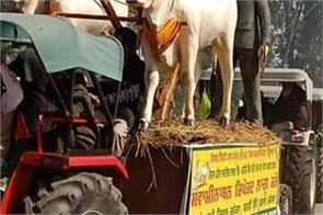 3000 tractors left moga for delhi in support of farmers