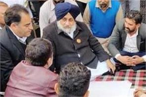 capt amarinder singh acting like bjp chief minister badal