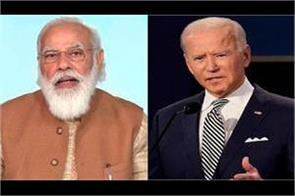pm modi congratulates biden on becoming us president