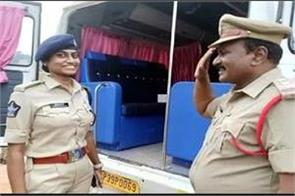 inspector father salutes dsp daughter by saying namaste madam