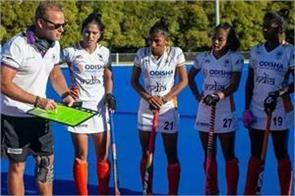 hockey india announces 25 players for senior women s camp