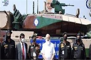 narendra modi arjun tank army tamil nadu