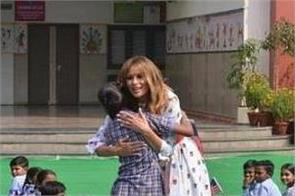melania trump government school of delhi