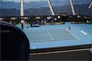 australian open  spectators  return