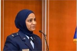 us army first muslim woman of indian descent
