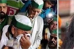 farmers movement viral photos rakesh tikait sikh youth