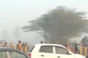 delhi border security roads traffic jams