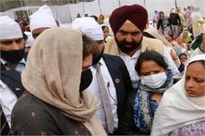 tractor parade violence navreet singh final prayer priyanka gandhi