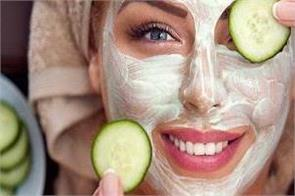 beauty tips homemade cucumber facepack will brighten your face