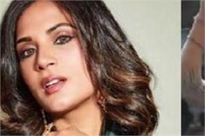 richa chadha shares woman dance video farmer protest