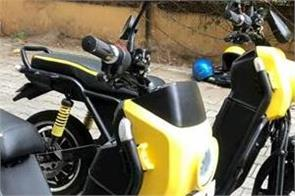 bangalore based startup company launches electric scooter fully charged 60 km