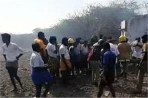 big accident in tamil nadu  11 people killed in fire cracker factory