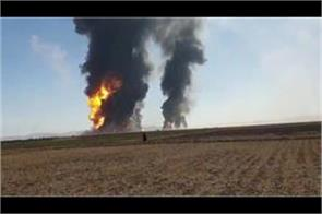 afghanistan iranian tv explodes in fuel tanker on iranian border