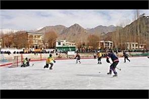 6th ihai national ice hockey championship held in leh