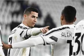 hellas verona held juventus to a draw despite ronaldo  s goal