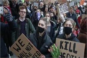 14 arrests in anti lockdown protest in uk city of bristol bill law