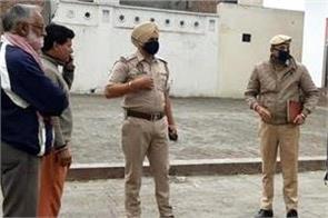 thieves committed theft at sri guru ravidas gurdwara sahib