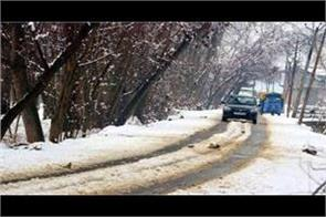 heavy snowfall in kashmir and himachal pradesh  rains in punjab
