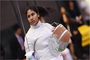 bhavani devi became the first indian swordsman