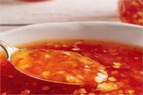 cooking tips  delicious coconut and red chili sauce in your home kitchen