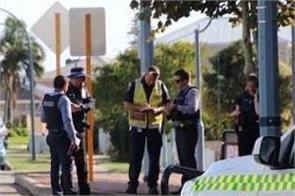 western australia suspicious packet