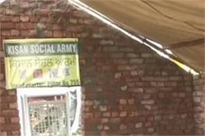 farmers protest permanent shelter at tikri border