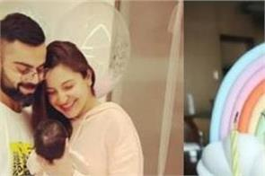 anushka virat s 2 month old daughter wamika the couple celebrated in this style