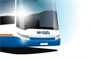 scotland  mcgill bus company  electric vehicles